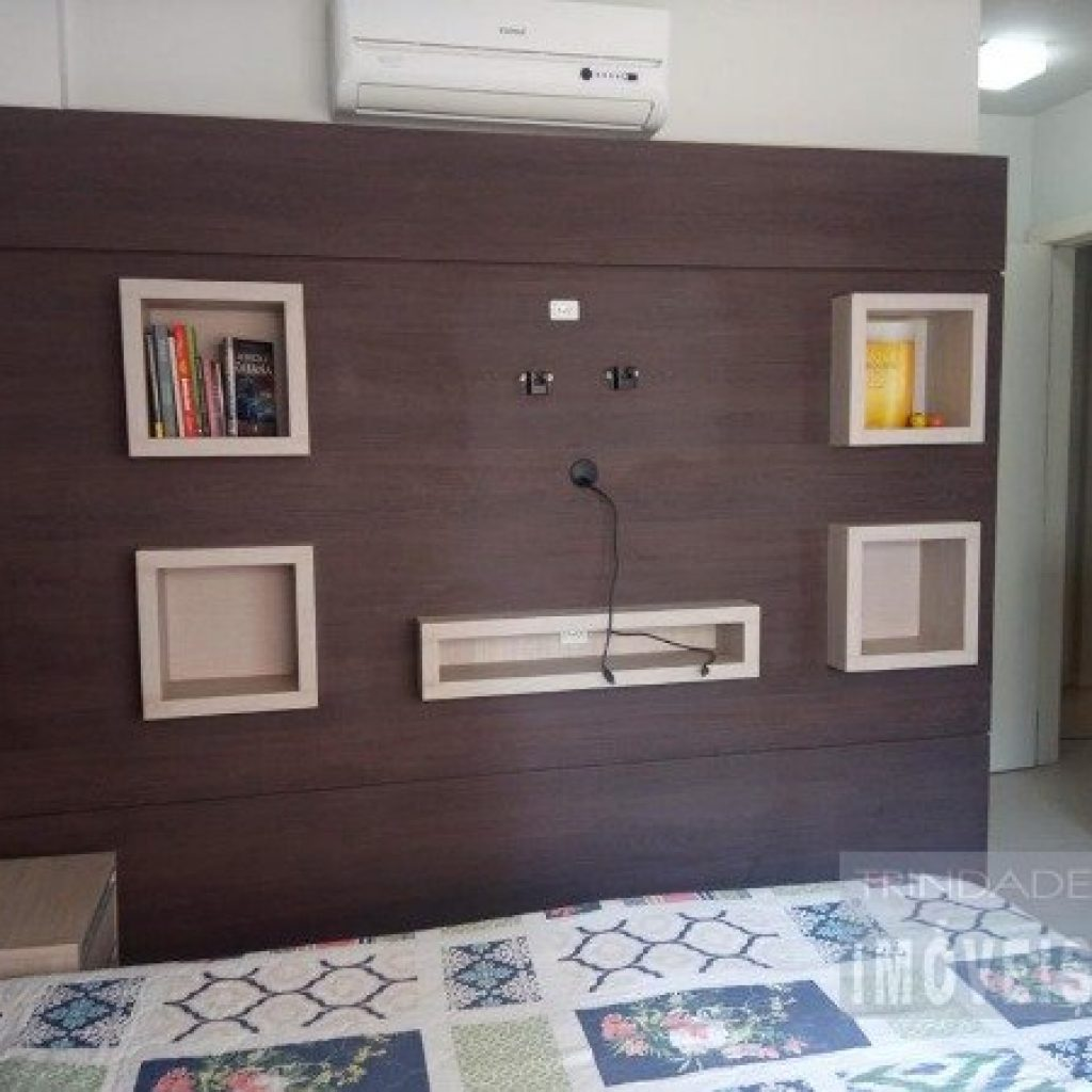 Apartamento 3 dormitórios, 1 suíte e 2 vagas no Itacorubi